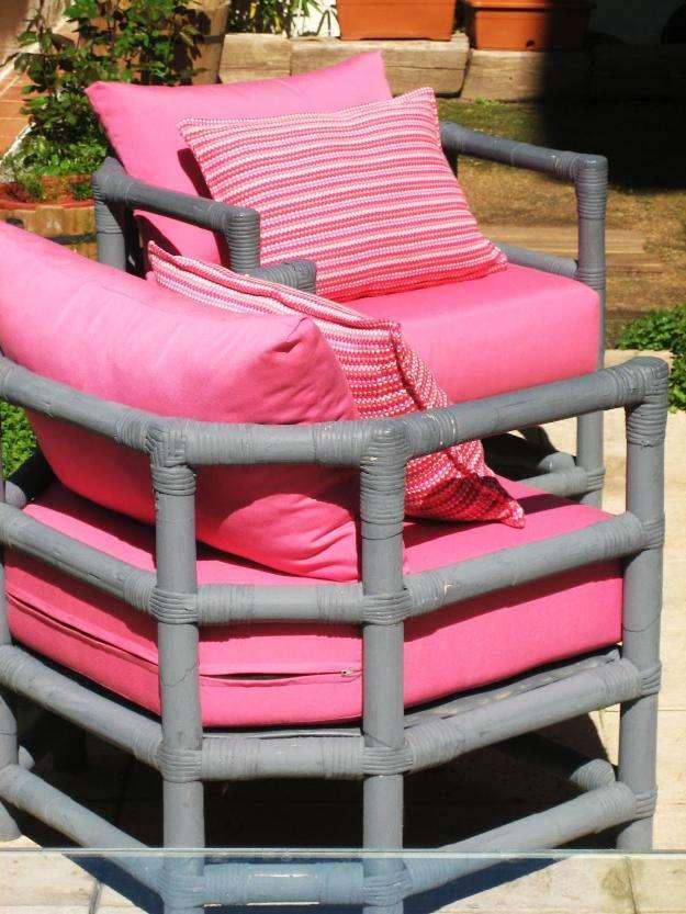 Como hacer cojines para sillas de terraza cool for Fundas muebles terraza
