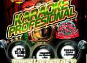 Karaoke calado sonido real mp3 solo lo que si cantaras