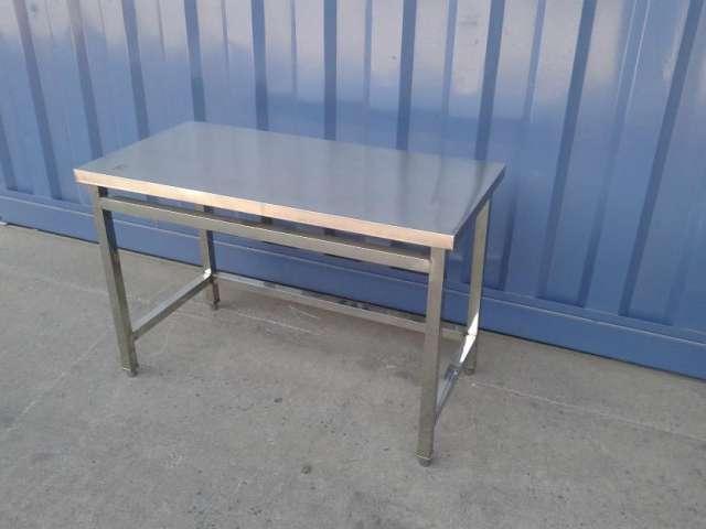 Mesa para trabajo cocina de acero inoxidable en santiago - Mesas de trabajo para cocina ...