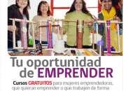 CURSO MUJER EMPRENDEDORA GRATUITO