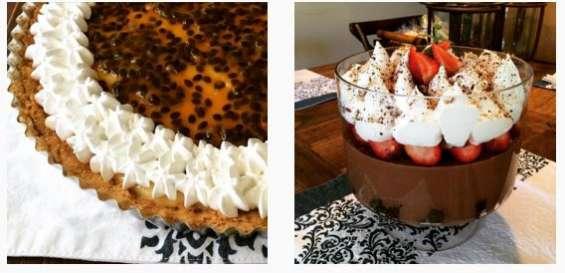 Galletas decoradas y otros productos de pastelería