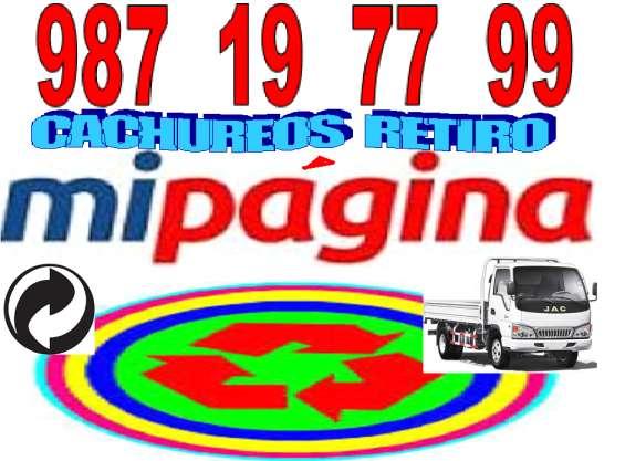 Operativo de reciclaje 987 19 77 99 todas comunas
