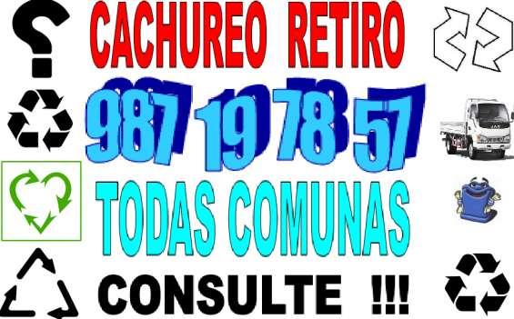 Retiro cachureos 987 19 78 57 comunas todas