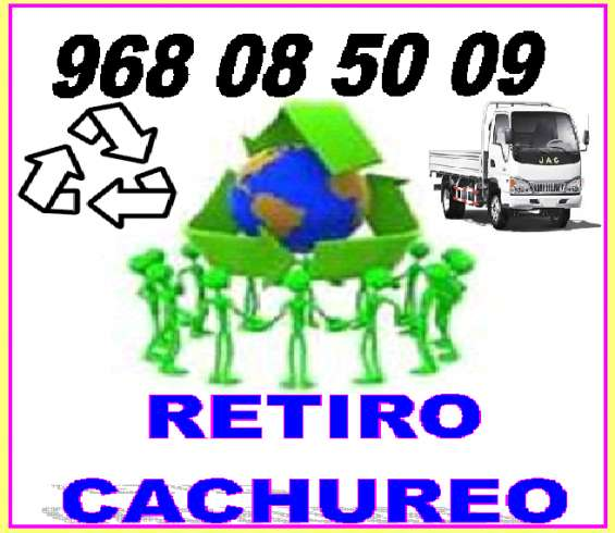 Reciclaje y cachureos varios9 6808 5009 metropoitana