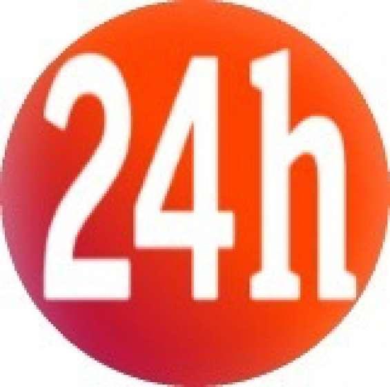 Disponible las 24 horas en toda la sexta region.