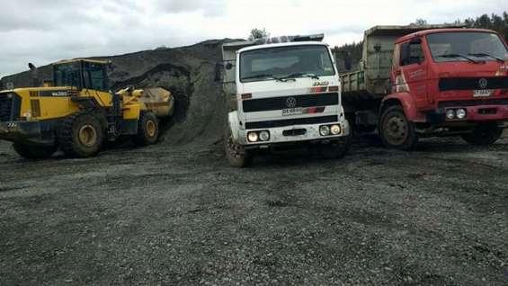 Aridos osorno arriendo de maquinaria retiro de escombros