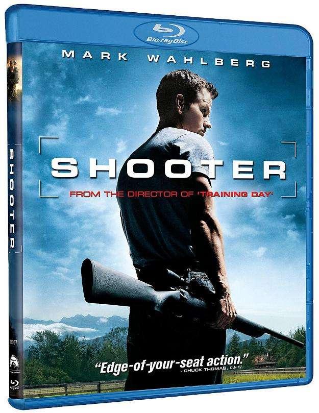 Blu ray disc: tirador. nuevo, sellado. edición u.s.a