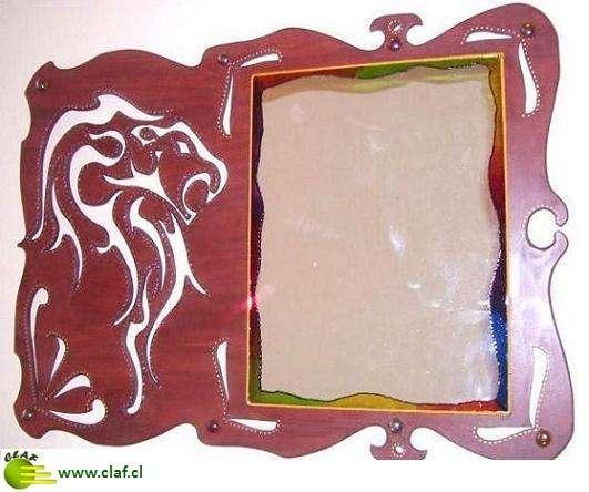 Claf ? original espejo león calado