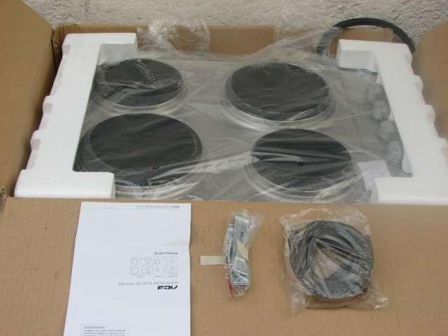 Encimera eléctrica nueva marca fdv en su caja original