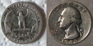 Moneda de u.s.a. año 1943