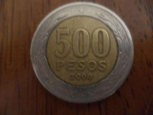 Vendo moneda de quinientos pesos año 2000