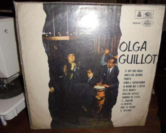 Vinilo lp olga guillot con la orquesta de nacho rosales