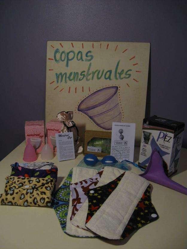 Copas menstruales y toallitas de tela