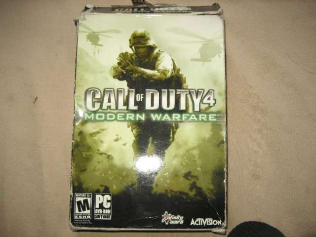 Juego call of duty modern warfare 4 original
