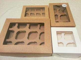 Cajas para cupcakes, cajas de cartón cupcakes, santiago, las condes, vitacura, ñuñoa,