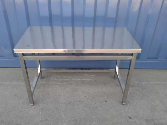 Mesa para trabajo cocina de acero inoxidable en Santiago - Otros ...