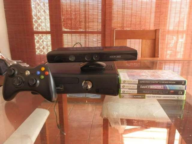 Xbox 360 mas kinect mas 4 juegos