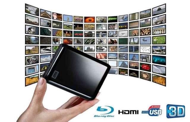 Disco externo de 500gb y 1tb con películas hd