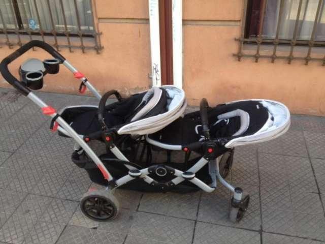 2db813f2f Coche doble duo ride infanti mellizos en Maipú - Accesorios de Bebes ...
