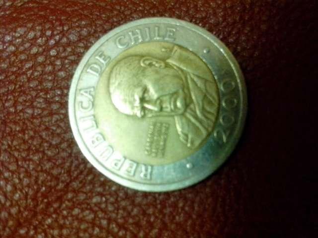 Vendo moneda de $500 año 2000