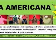 Se vende ropa usada americana y esuropea, ropa en excelente estado