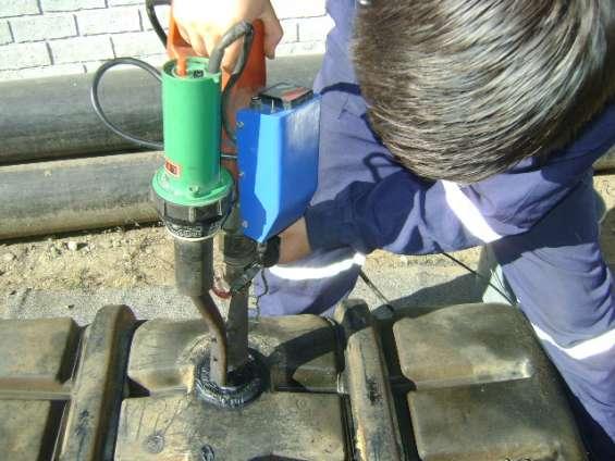 Reparaciones por extrusora a vertederos