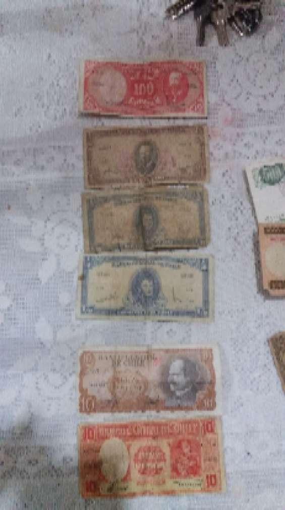 Billetes antiguos para colecionistas..