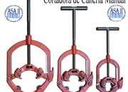 CORTADORAS DE CAÑERIAS MANUALES Y ELECTRICAS
