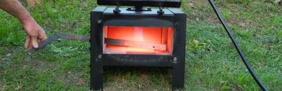 Fragua a gas de cilindro para templar metales