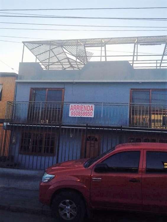 Arriendo excelente casa amplia en dagoberto godoy 6909