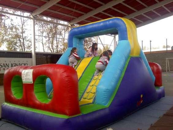 Arriendo de camas elasticas rancagua y juegos inflables