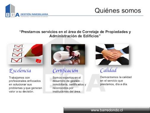 Correo  :  info@barredondo.cl