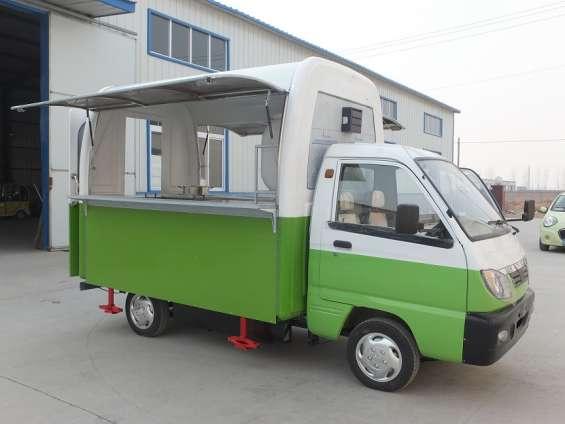 Furgon electrico food truck